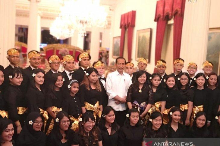 Istana Kepresidenan gelar Talenta Musik  Indonesia