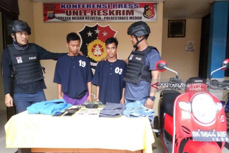 Seret korban hingga 10 meter, jambret dekat kantor polisi diringkus