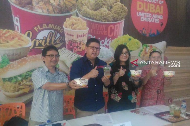 Chicking Indonesia Ayam Top Dubai hadir di Pontianak