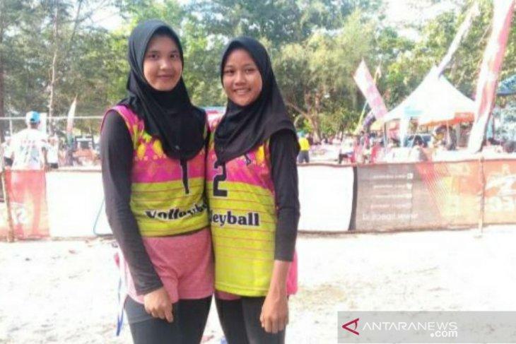 Tim putri Babel lolos ke babak final Kejurnas Voli Pasir 2019