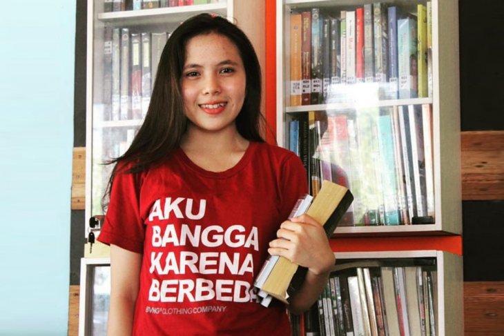 Claudia Liberani dirikan rumah baca bagi anak pedalaman Kalbar