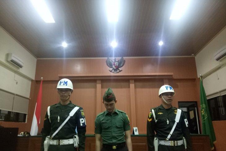 Oknum TNI mengaku khilaf membunuh kasir minimarket karena mengaku hamil dua bulan