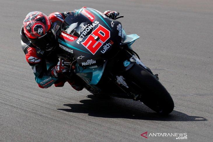 Quartararo ungguli Marquez pada sesi latihan di GP Inggris