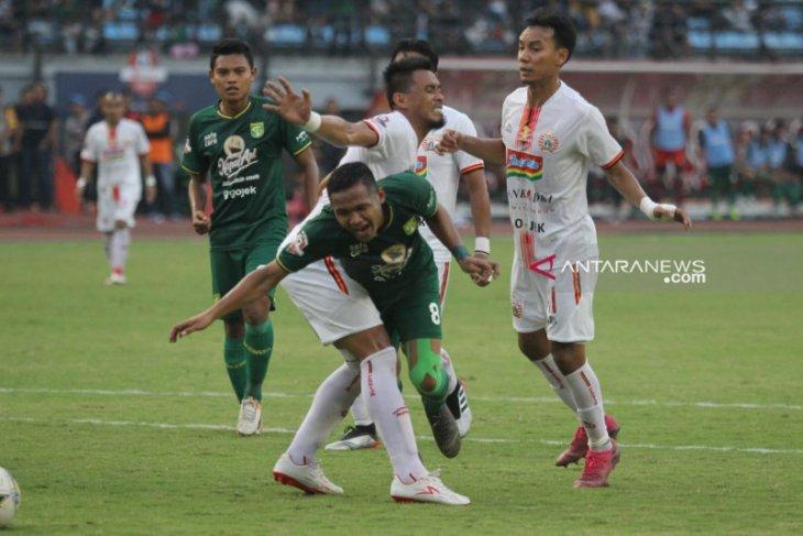 Bejo Sugiantoro apresiasi perjuangan pemainnya lawan Persija