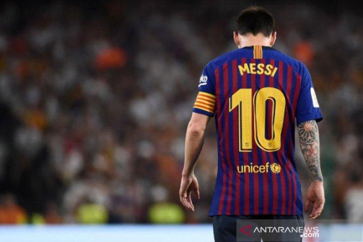 Jelang Barcelona hadapi Valencia, Messi masih berlatih terpisah