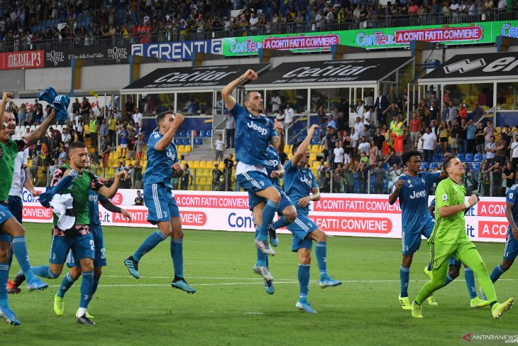 Gol tunggal Chiellini amankan poin Juve pada laga perdana Liga Italia