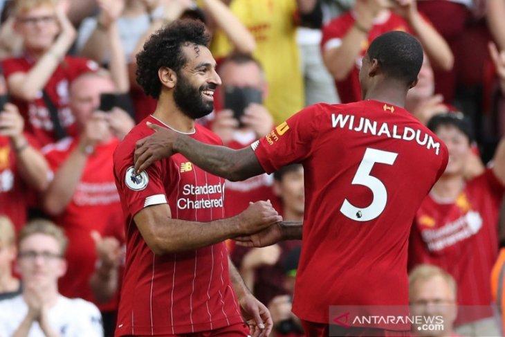 Jalannya pertandingan Liverpool vs Arsenal, The Reds menang mudah