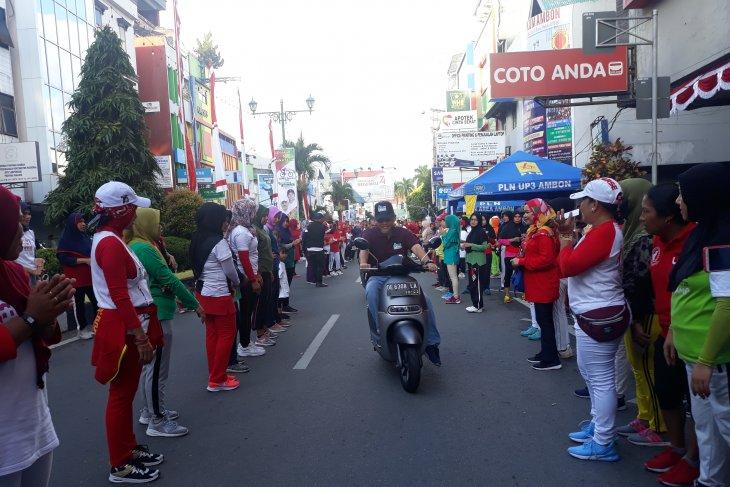 PLN promosikan kendaraan motor listrik ramah lingkungan di Ambon