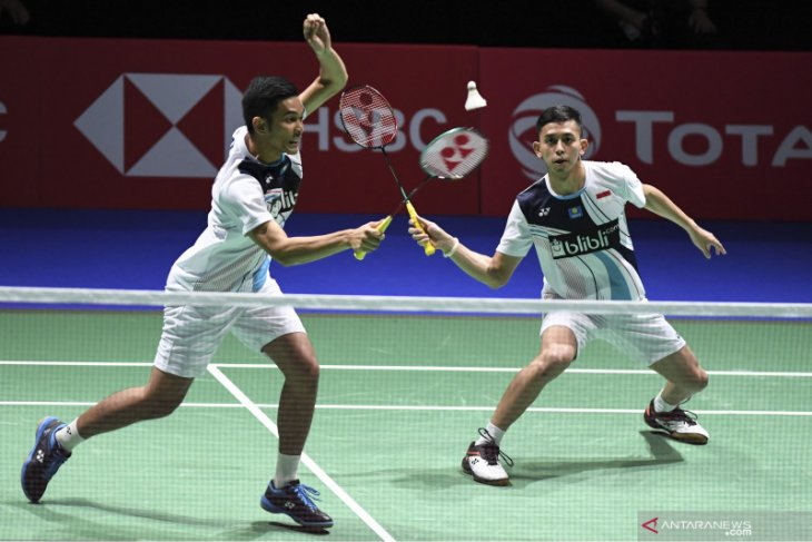 Indonesia's men's-doubles moves to 2019 China Open semi final