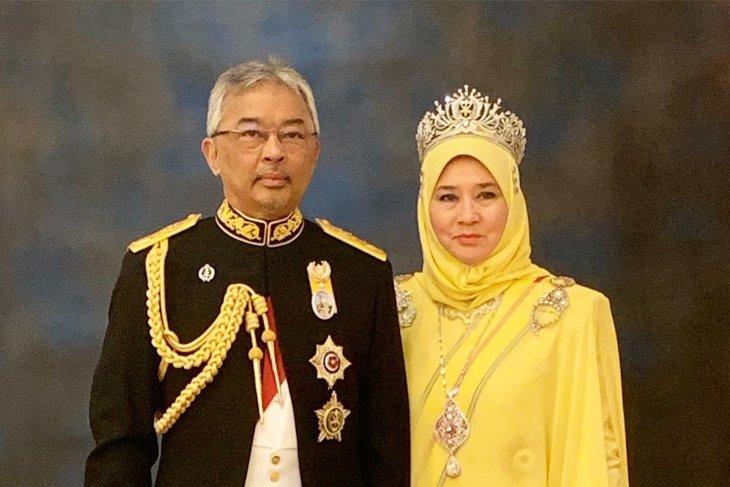 Raja Malaysia Sultan Abdullah ke Indonesia