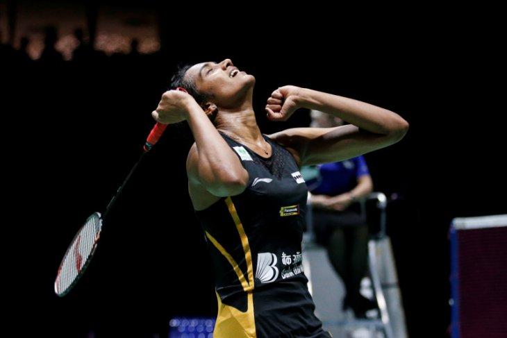 Sindhu jadi tunggal putri India pertama yang jadi juara dunia