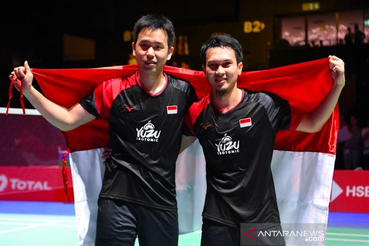 Ahsan/Hendra raih juara dunia 2019