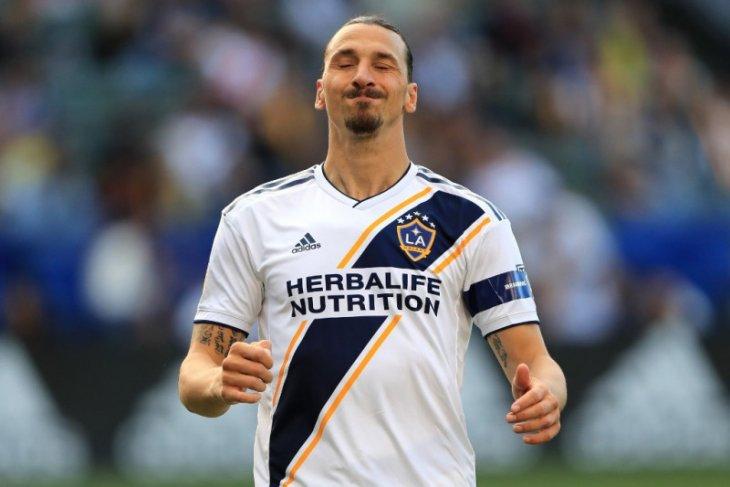 Dua gol Ibrahimovic tak bisa bawa Galaxy  kalahkan LAFC