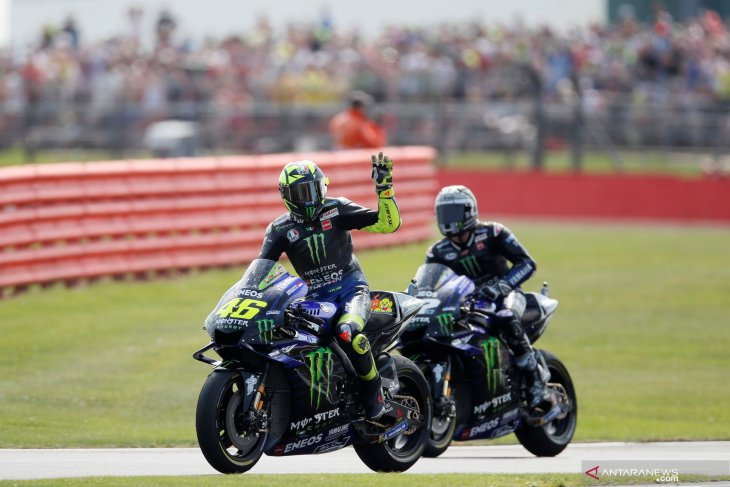 Rossi sampaikan alasannya gagal amankan podium di Silverstone