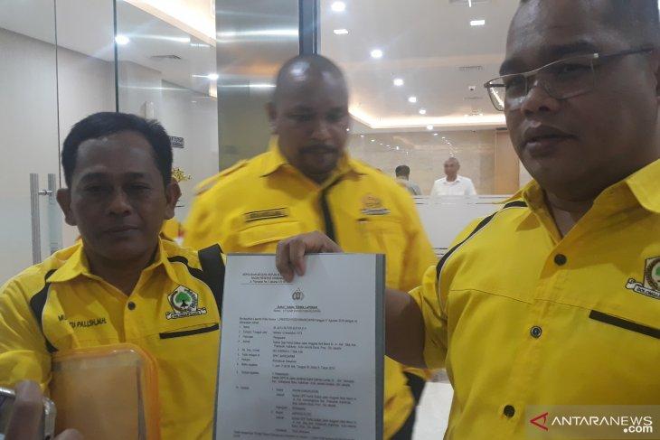 Golkar laporkan ketua dan wasekjen soal pemalsuan surat
