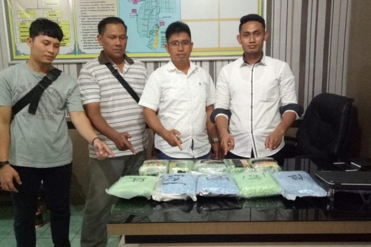 Polisi Binjai amankan 5 kg sabu-sabu dan 24.725 butir pil ekstasi