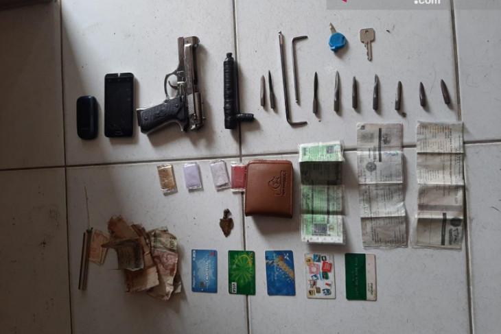 Aksi pencuri motor bersenpi mainan digagalkan warga saat beraksi di Bekasi