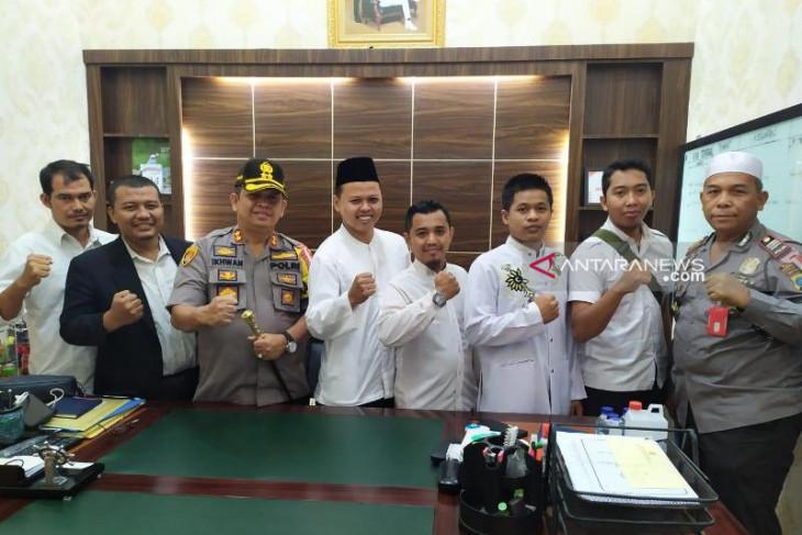Kapolres Belawan terima audiensi GP3MU