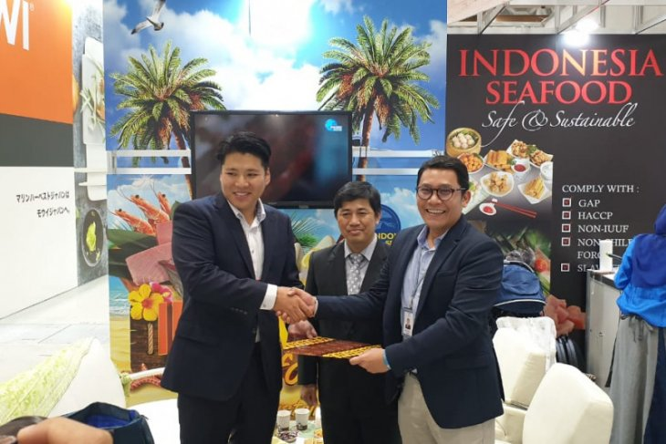 Indonesia bags US$42.62 million transactions at seafood expo