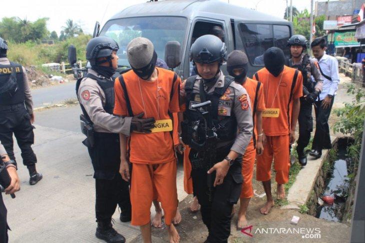 Lima pelajar SMK Sukabumi pelaku pembacokan ditangkap
