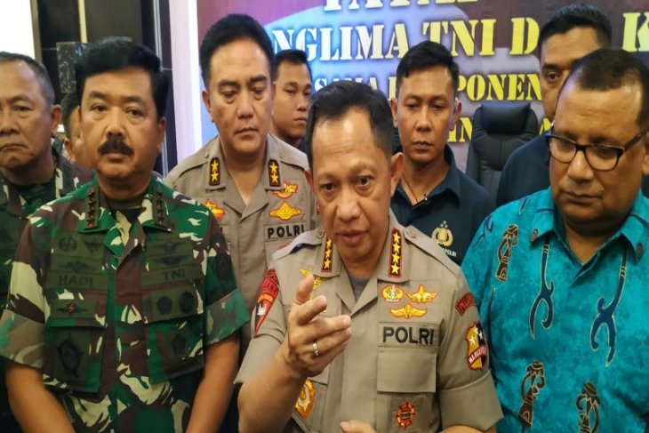 Kapolri ajak semua pihak berkomitmen jaga keamanan di Papua
