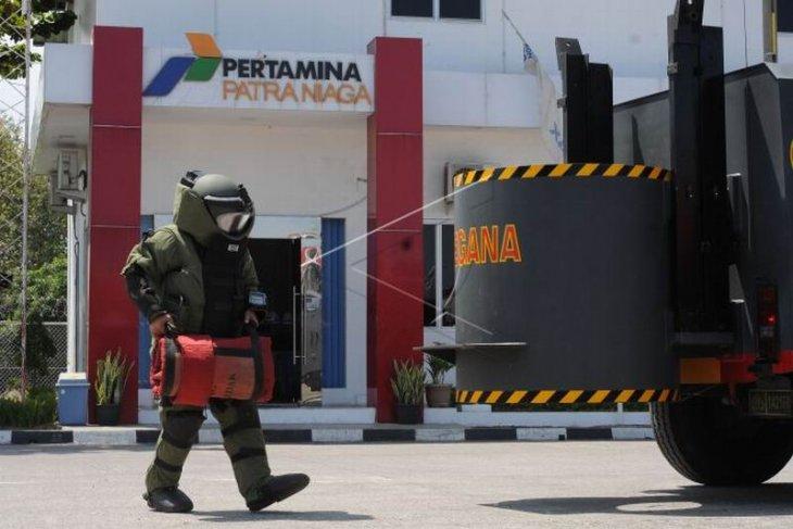 Simulasi pengamanan teror bom