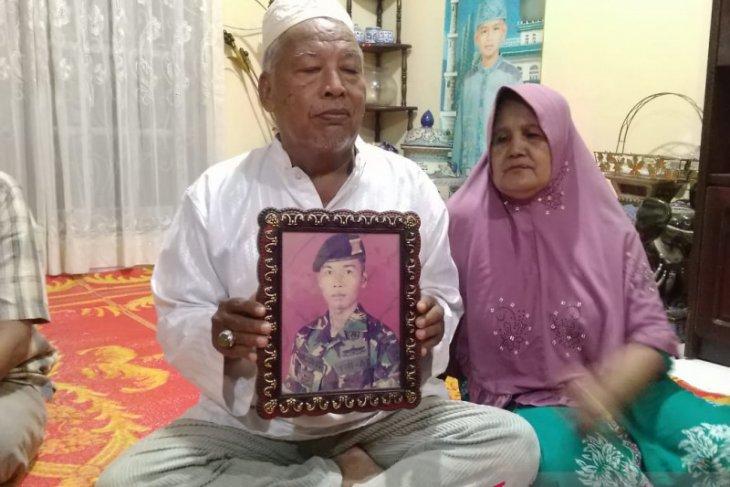 Anggota TNI yang meninggal di Papua warga  Jambi