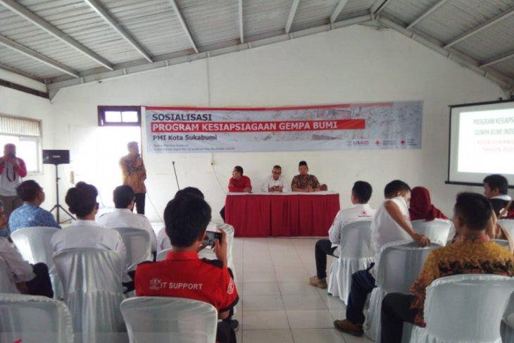 PMI Sukabumi jadi proyek pencontohan program kesiapsiagaan bencana gempa