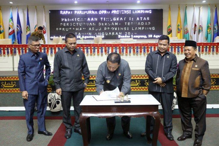 Sepakat, Pendapatan Daerah Lampung Rp7,371 triliun