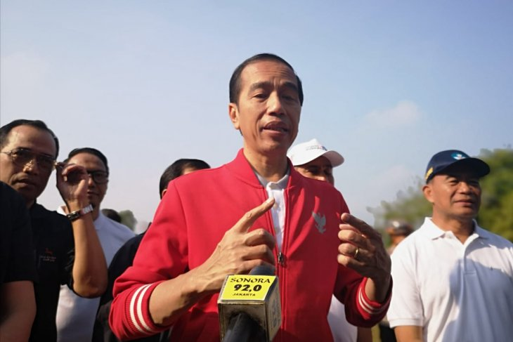 Dalam rangka pengembangan destinasi empat wisata prioritas, Presiden Jokowi tinjau Candi Borobudur