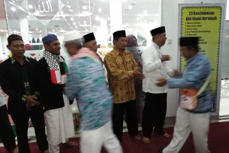 185 haji Tebing Tinggi tiba, satu meninggal dunia di Mekkah