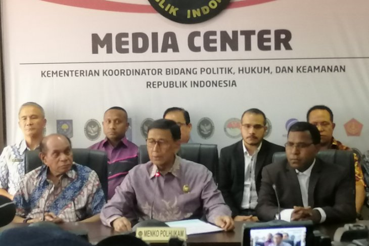 Wiranto tegaskan tindak pelaku kerusuhan di Papua