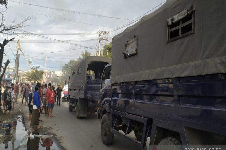 Kota Jayapura lumpuh setelah aksi jilid 2