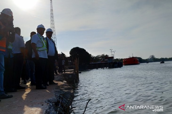 Komisi V DPR RI kunjungi Pelabuhan Pangkalbalam