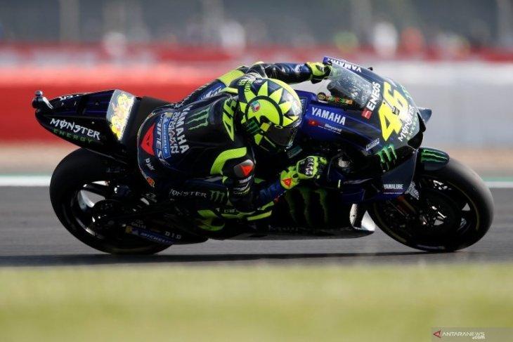 Rossi, Vinales tak khawatirkan cuaca hujan di Aragon