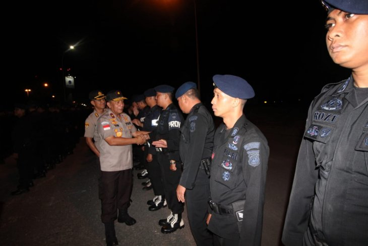 Riau Islands police elite unit's 252 members deployed to Papua
