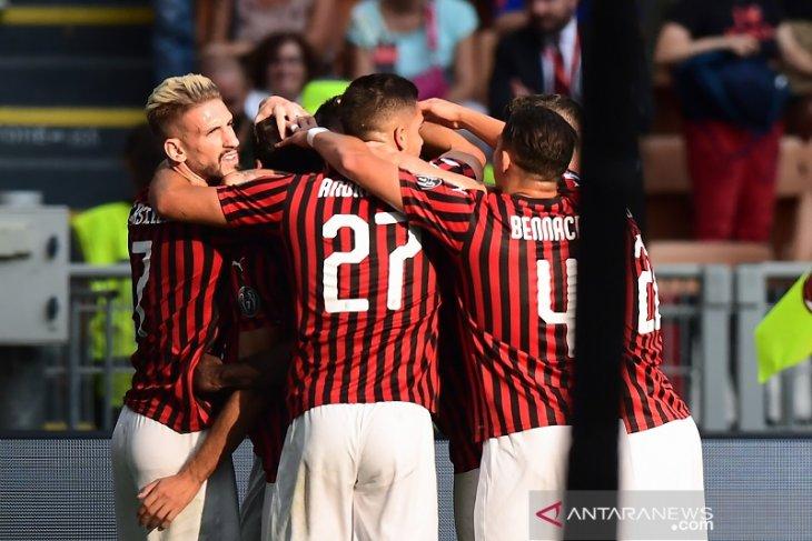 Milan petik kemenangan perdana  bersama Giampaolo