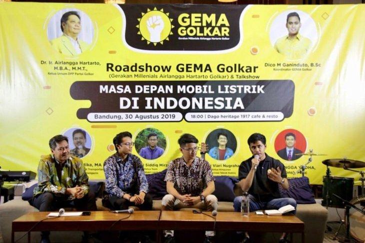 Mobil listrik merupakan masa depan Indonesia
