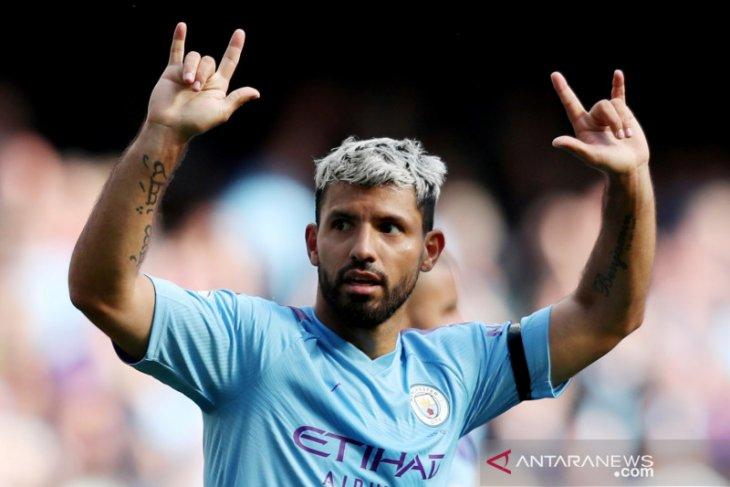 Liga Inggris: Sergio Aguero tegaskan City siap bersaing dengan Liverpool