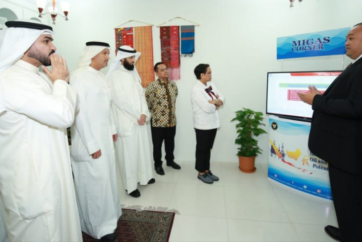 "Indonesia opens ""oil and gas corner"" at embassy in Kuwait"