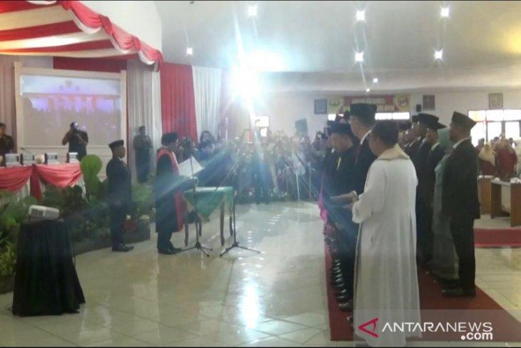 35 Anggota DPRD Kota Sukabumi periode 2019-2024 dilantik