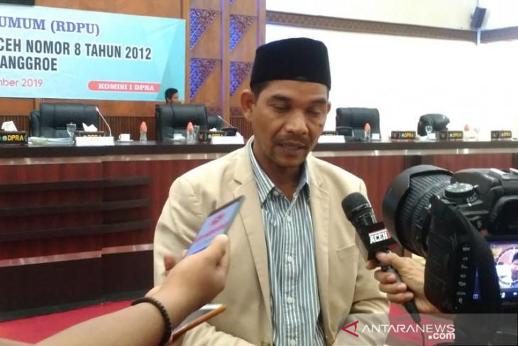 DPR  Aceh revisi qanun Lembaga Wali Nanggroe