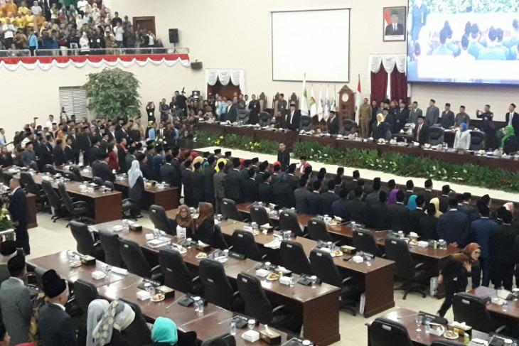 Tekad 85 anggota DPRD Banten 2019-2024 untuk bekerja lebih baik