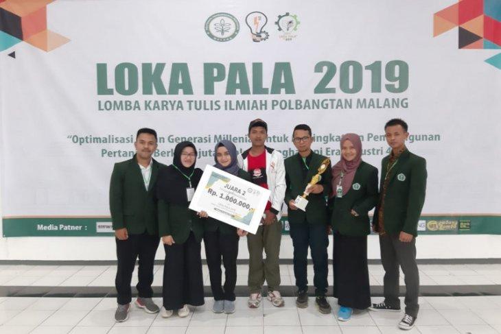 Tiga Mahasiswa Polbangtan Bogor ukir prestasi di LOKA PALA 2019