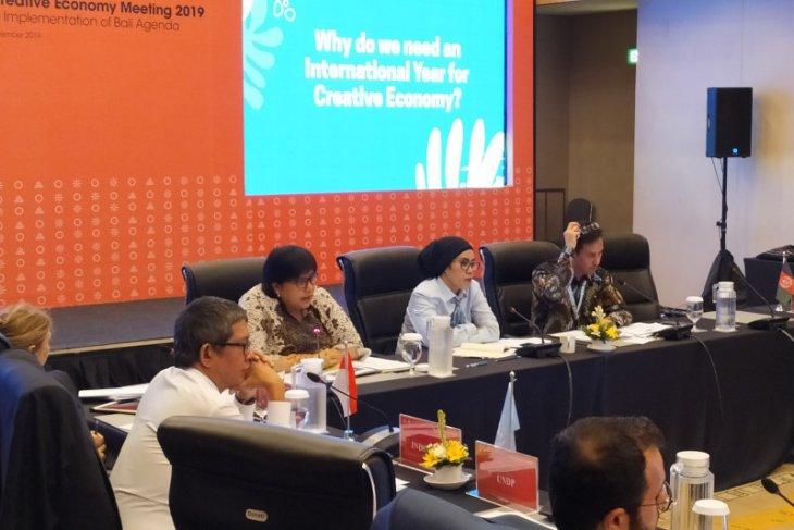 FCE 2019, Indonesia pelopori pengajuan draf resolusi PBB bidang ekraf