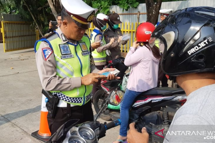 Enam hari polisi tilang 1.426 pengendara