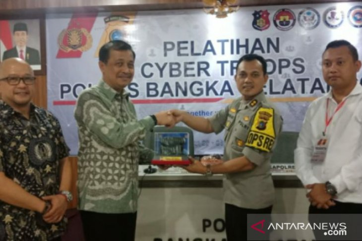 Polres Bangka Selatan gelar pelatihan Cyber Troops