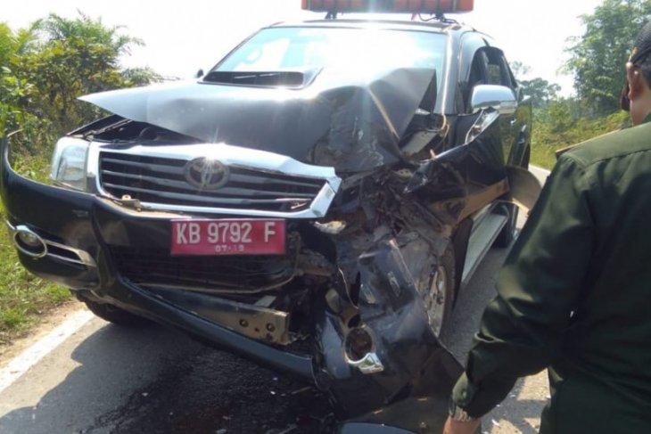 Polisi ungkap kronologis tabrakan beruntun di Kapuas Hulu