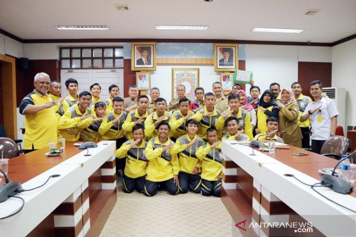 Bupati Muda ucap selamat dan terimakasih kepada tim GSI Kubu Raya