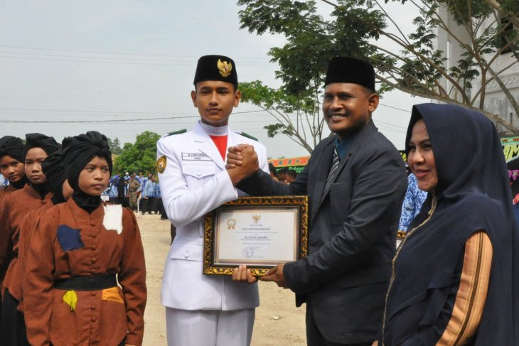 Upacara Hardikda ke-60 di Aceh Timur khitmad